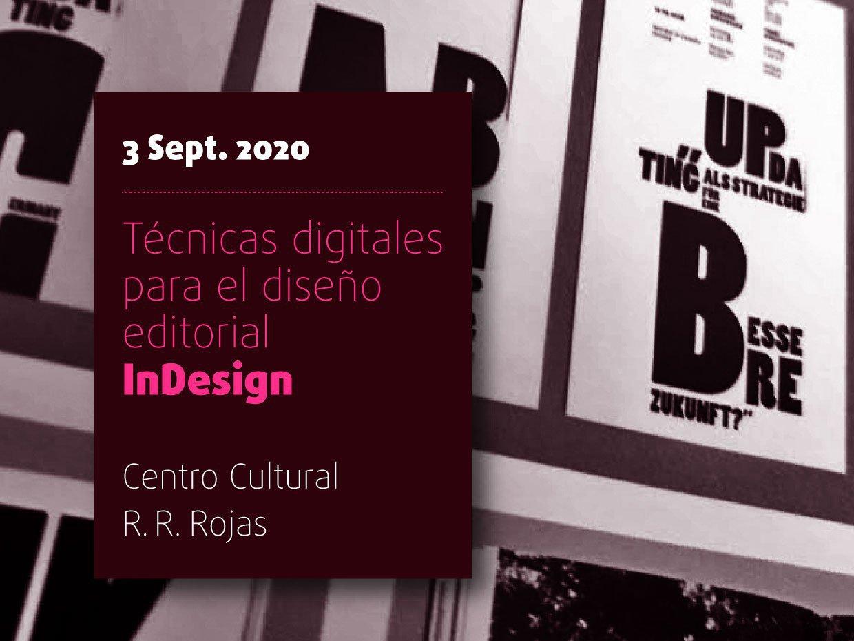 Técnicas digitales para el diseño editorial InDesign
